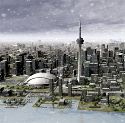 City of Toronto animated weather - Motion Graphics Toronto